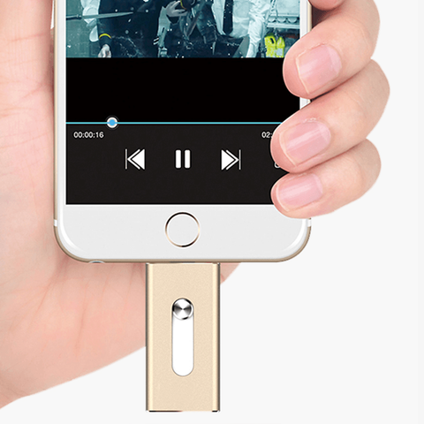iOS Flash USB Drive for iPhone & iPad - lessmoney.com