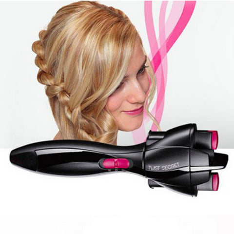 SMART QUICK AUTOMATIC HAIR TWISTER - lessmoney.com