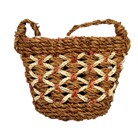 Abaca Small Weave Bag - lessmoney.com
