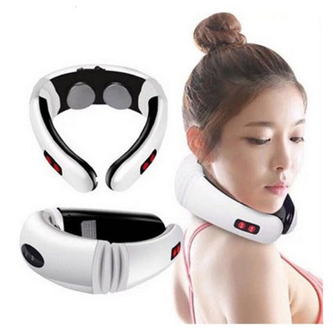PLATINUM PULSE™ NECK MASSAGER - THE STRESS ERADICATOR - lessmoney.com