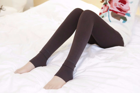 Hot New Fashion Women's Winter Warm High-Quality Thick Elasticity Velvet Leggings - lessmoney.com