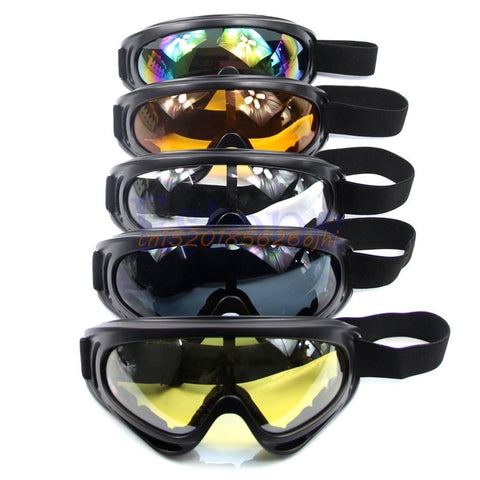 Winter Snow Sports Skiing Snowboard Snowmobile Anti-fog Goggles - lessmoney.com