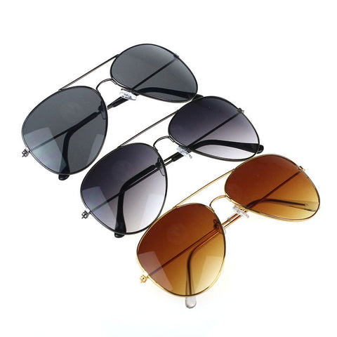 Hot Men and women Classic Metal Designer Sunglasses New - lessmoney.com