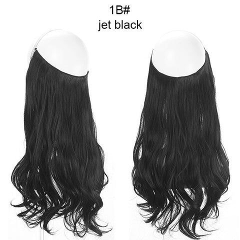 Natural Wave Hair Extensions - Hidden Hair Extension - lessmoney.com