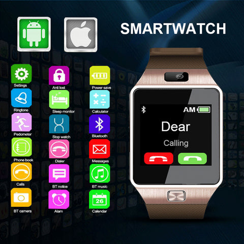 2019 Digital Smart Watch with Bluetooth Intelligent Android Functions - lessmoney.com