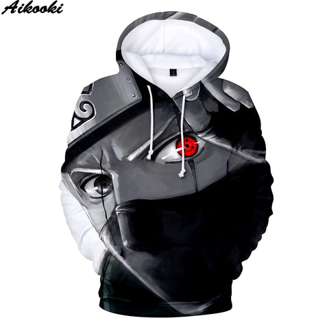Aikooki Hot Anime Naruto 3D Hoodies Pullovers - lessmoney.com