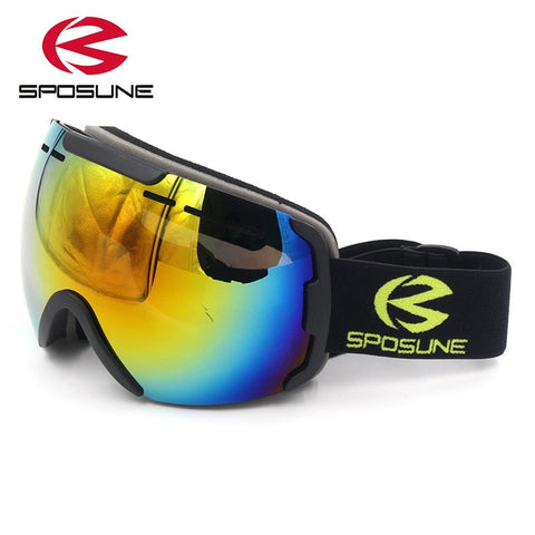 Double Lens Snow Sport Goggles for Men & Women - lessmoney.com