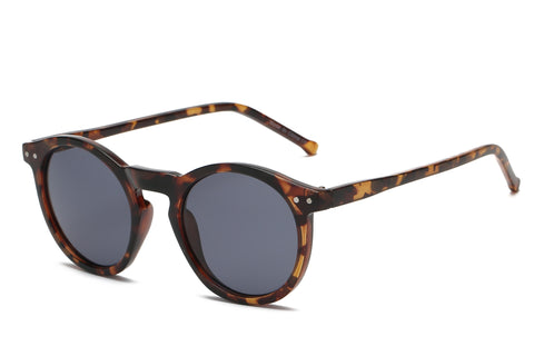 Retro Vintage Unisex Circle Round Fashion Sunglasses - lessmoney.com