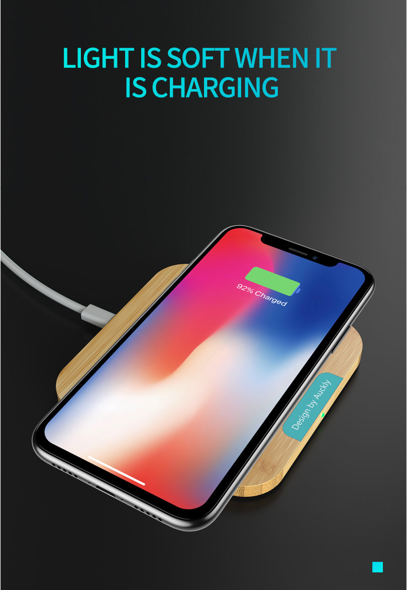 purchase cheap 18c7e 31788 Wofalo Qi Wireless Charger Quick Charge 3.0 For iPhone X/XR/8 Plus Fast  Charging Pad For Samsung Galaxy S9/S9 Plus/S8/Note 8
