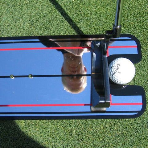 Eye Line Golf Putting Alignment Training Swing Aid Trainer Accessories 32 x 14.5cm - lessmoney.com
