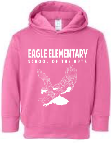 Boys and Girls Hoodie-Pink