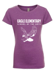 Girls T-Shirt-Purple