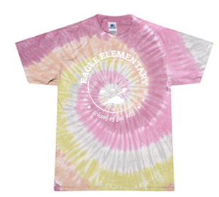 KIDS TYE DYE ROSE