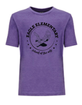 KIDS TEE PURPLE