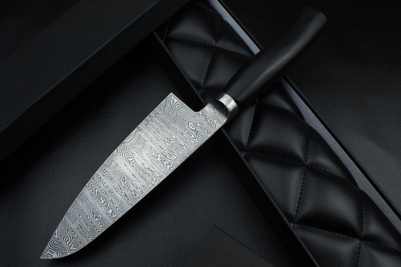 Santoku Black Ebony 1.7