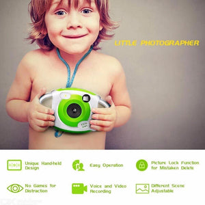 Kids Digital Video Camera 1.44 Inch TFT Display SD Card Slot