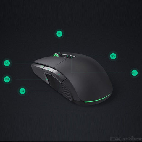 Original 2.4GHz Xiaomi Gaming Mouse, USB Wired and Wireless Dual Modes 7200Dpi 6 Keys Gaming Mice Compatible MacOS Windows Lapto