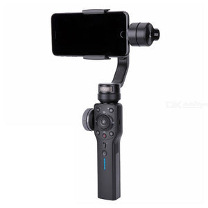 Zhiyun Smooth 4 3-Axis Handheld Gimbal Stabilizer For Smart Phone And Action Photo Cameras W/Zoom And Focus Wheel