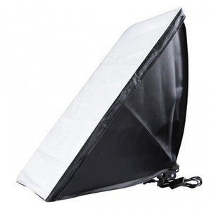 50 x 70cm Soft Box with E27 Single Photography Lamp Kit