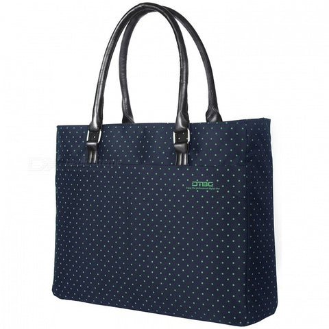 DTBG D8209W 15.6quot Nylon Casual Women's Laptop Tote Bag, Durable Handbag