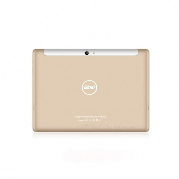 Binai G10Max MTK Helio X20(MTK6797) Deca Core 10.1quot Tablet PC with 4GB RAM, 64GB ROM - Golden