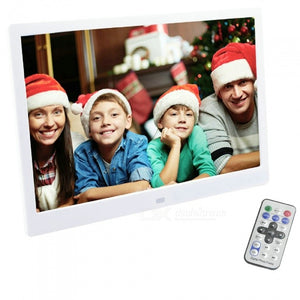 13.3 Inch Digital Photo Frame LED Backlight HD 1280 x 800 Electronic Album Full Function