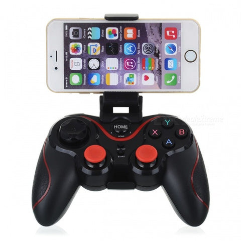Bluetooth Wireless Joystick Gamepad Game PS3 Controller Black