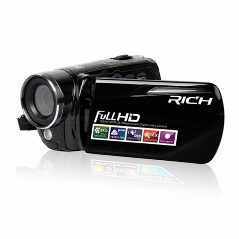 460S Infrared Video Camera 1080P HD 16x Zoom 3.0'' TFT LCD Digital Video Camcorder Camera DV DVR Support For Night Shoot Black