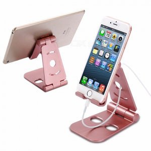 Universal Adjustable Desktop Mobile Phone Bracket, Folding Lazy Phone Holder Stand