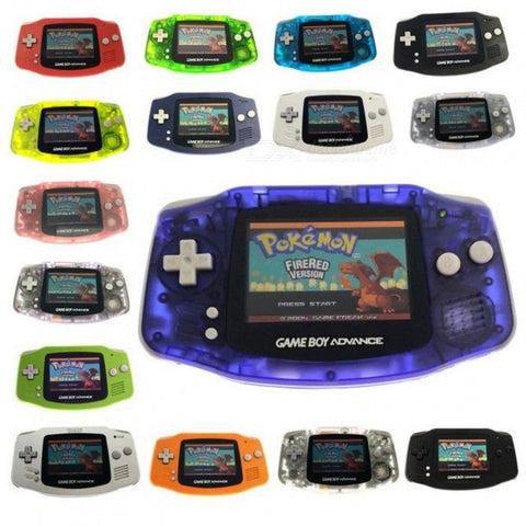 Professionally refurbished For Game Boy For GBA Console With AGS-101 Backlight Backlit LCD Mod Console & Brightness Switch Glacier