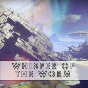 Whisper of the Worm Exotic Quest - Master Carries