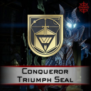 Conqueror Triumph Seal - Master Carries