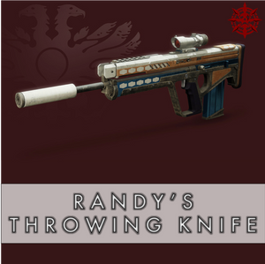 Randy's Throwing Knife - Master Carries