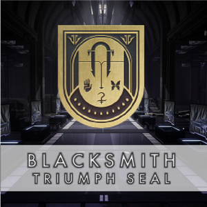 Blacksmith Triumph Seal - Master Carries