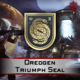 Dredgen Triumph Seal - Master Carries