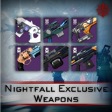 Nightfall Exclusive Weapon Farms - Master Carries