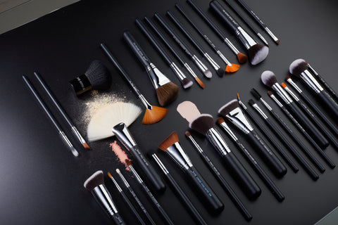Jessup professional makeup brush sets and single brushes