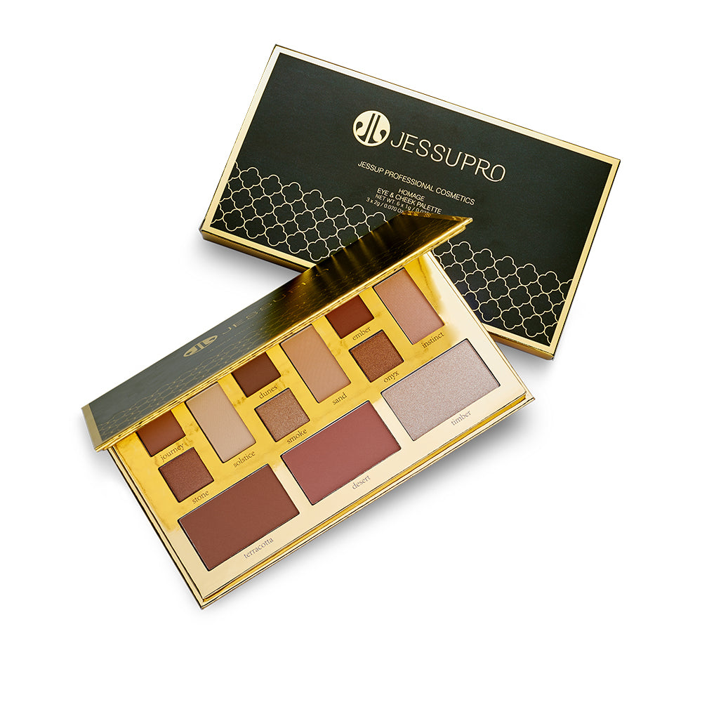 JESSUP HOMAG EYE CHEEK PALETTE E703