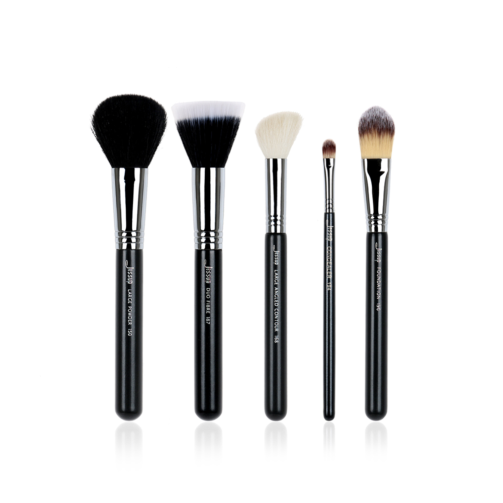 Foundation Duo Fibre Contour Concealer Powder Make up Brushes