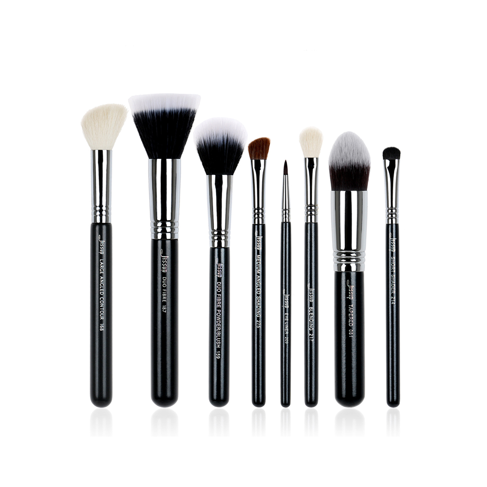 High Quality Pro Makeup Brush Set Foundation Blend Duo Fibre Contour Shader Powder Make up Brushes Beauty Tools