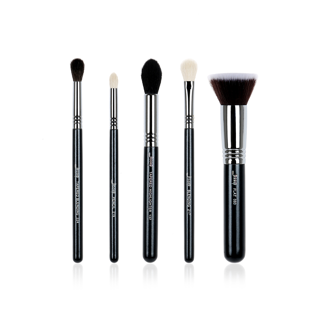 Quality Pro Makeup Brush Set Foundation Blend Contour Eye shadow Highlighter Make up brush Beauty Tools Kits