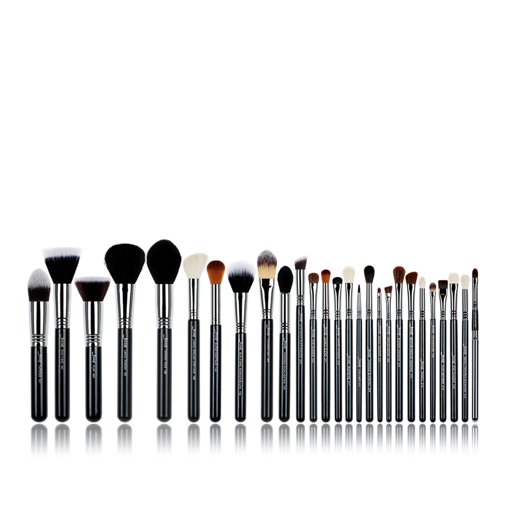 27PCS Jessup  Set Professional Makeup Brush Set Beauty Foundation Eye Face Shadow Lipsticks Powder Make Up Brushes Kit Tools