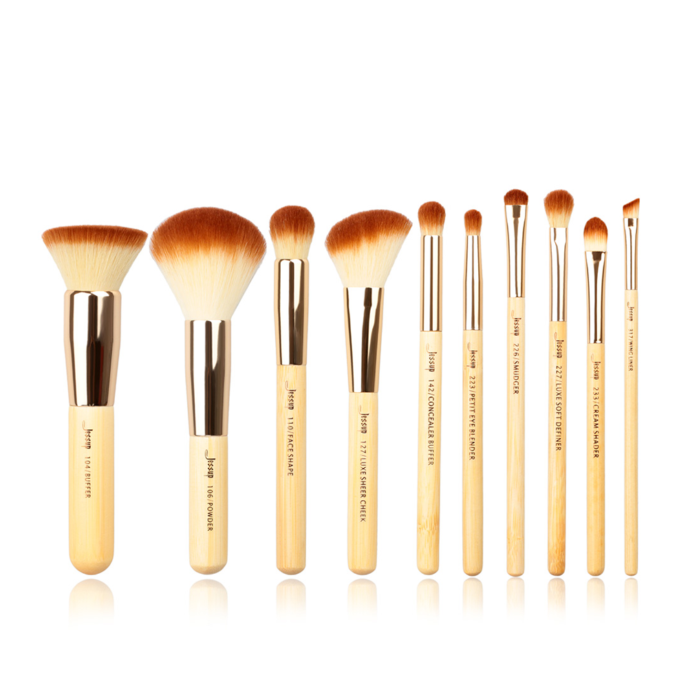 BAMBOO Mini Set 10 Pcs - Jessup Beauty