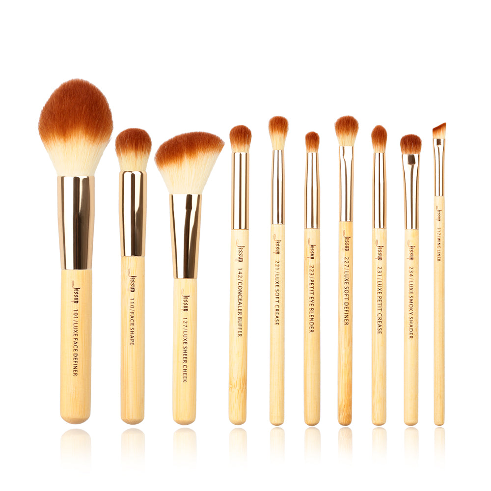 Bamboo Professional Set 10 pcs - Jessup Beauty