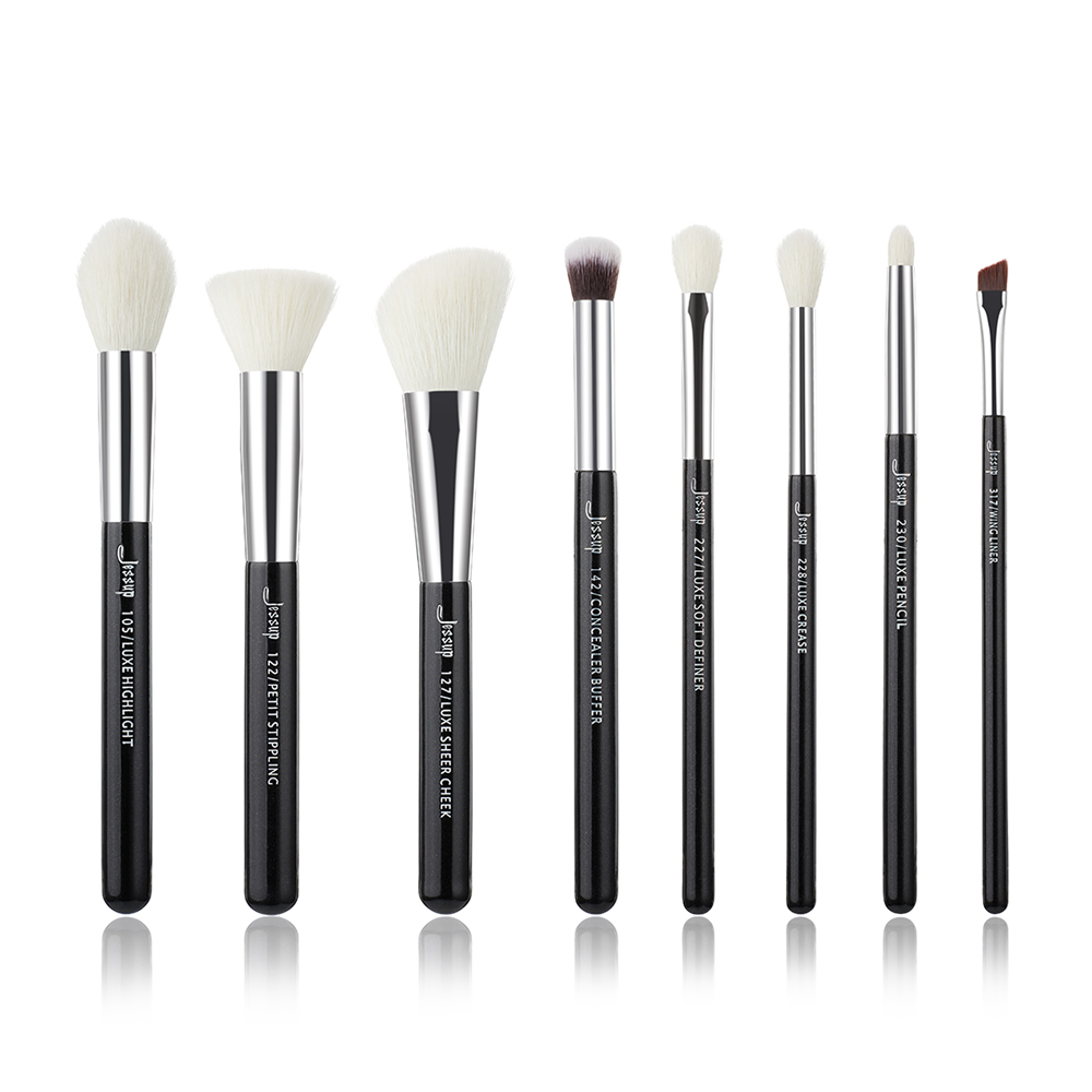 Professional Makeup Brushes Set Make up Brush Tools kit Foundation Stippling natural-synthetic hair