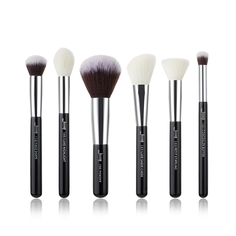 Professional Makeup Brushes Set Make up Brush Tools kit Buffer Paint Cheek Highlight natural-synthetic hair