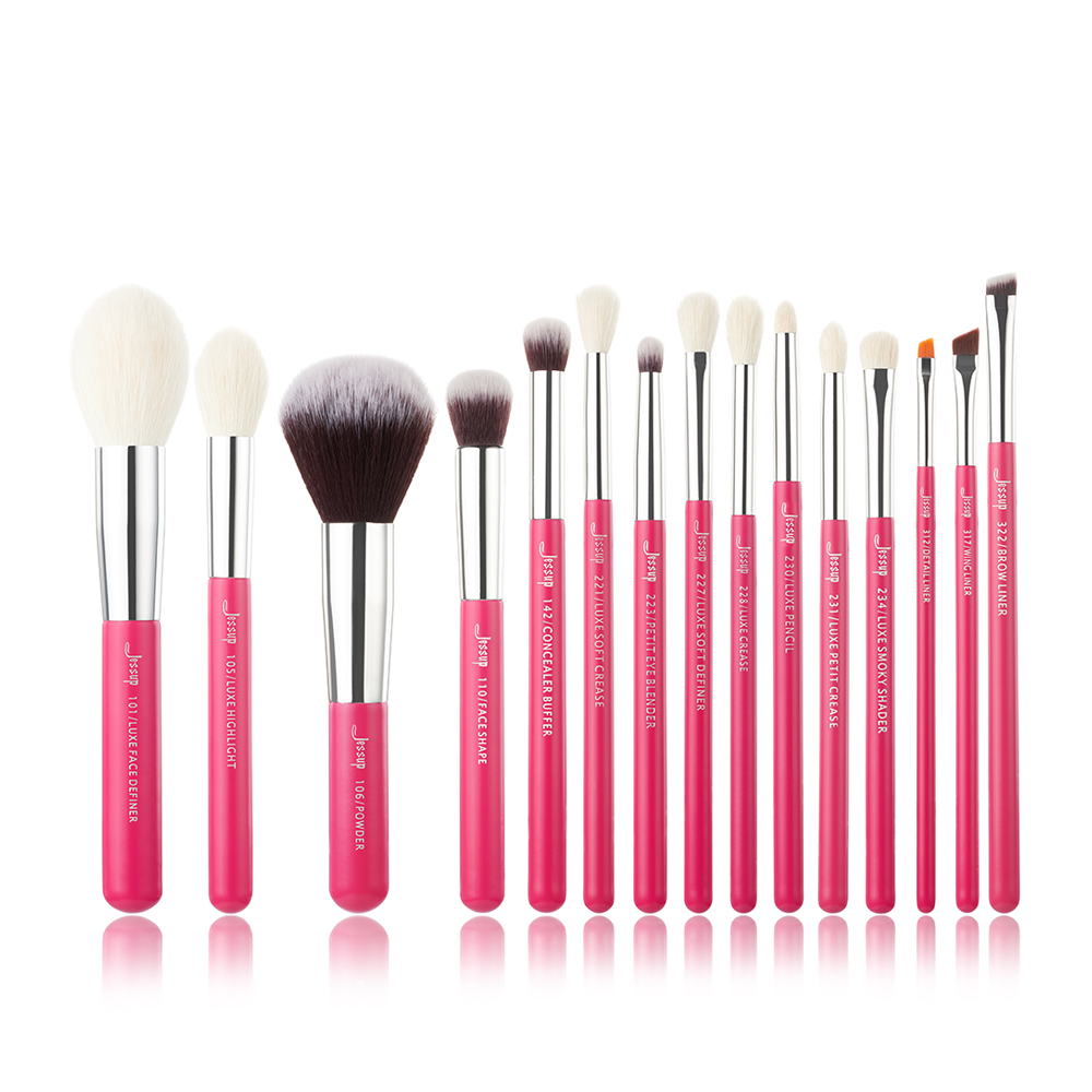 Professional Makeup Brushes Set natural-synthetic hair Make up Brush Tool kit Foundation Powder Pencil
