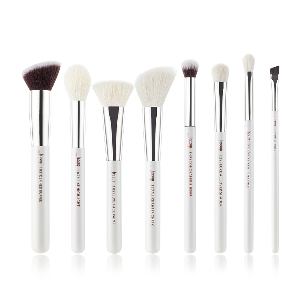 Professional Makeup Brushes Set Make up Brush Tool kit Buffer Paint Cheek Highlight Shader line beauty