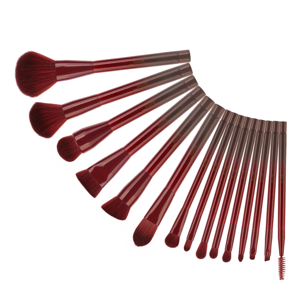 JESSUP T251 15Pcs WINERED KIT