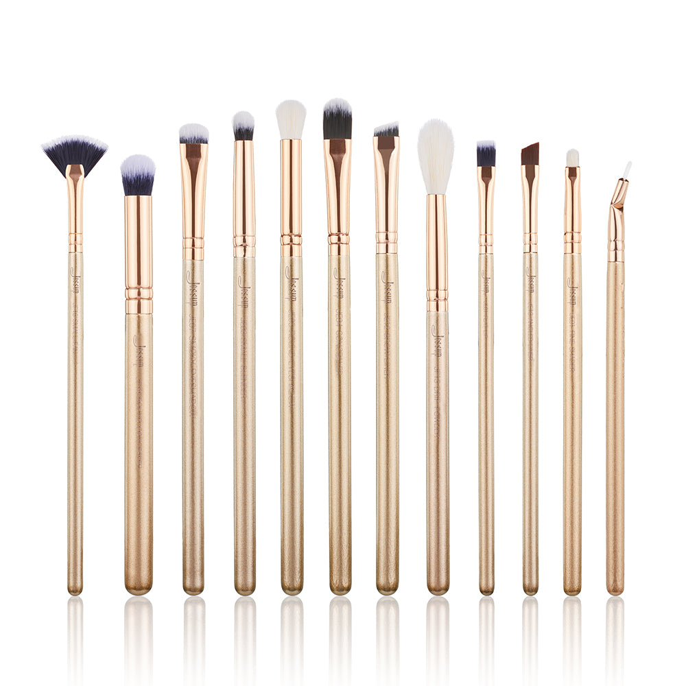 ALCHEMY Eye brushes 12Pcs - Jessup Beauty